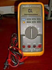 Fluke 87 True Rms Digital Multimeter tested Fluke Performance Verification