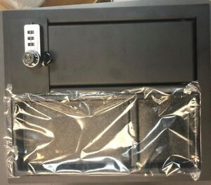 14 19 Toyota Tundra Oem Center Console Safe Gun Storage W Tray 00016 34174