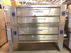 Bakers Pride Y 600 Pizza Oven Double Deck