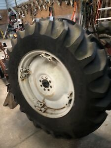 Ford 800 801 900 901 Spin Out Rim And Tire 14 9x28