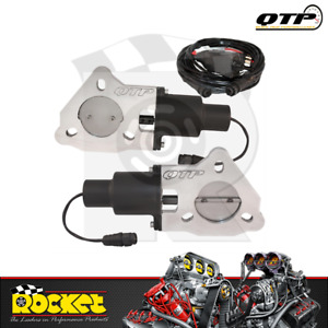 Qtp 2 25 Dual Electric Exhaust Cutout Kit Qtpec45