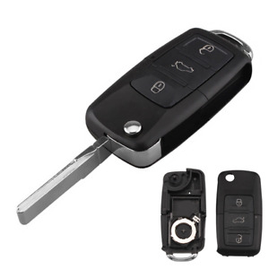 Replacement Key Shell Case For Volkswagen Jetta Golf Passat Polo Remote Flip Fob