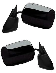 Mirrors For Chevy Gmc Truck 1988 1998 Blazer 92 94 Black Manual Pair Left Right