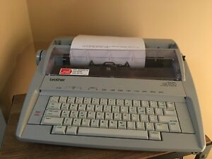 Brother Gx 6750 Electronic Typewriter Correctronic Excellent Condition