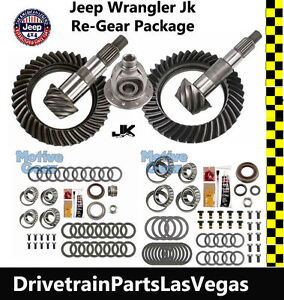 Motive Jeep Wrangler Jk Dana 44 30 Jeep Gear Set 4 11 Ratio Master Kit F Carrier