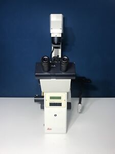 Leica Microsystems Dm Irbe Inverted Microscope Photo Port Collimating Adapter