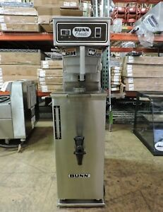 Bunn Tu3 03700 0009 Commercial 3 Gallon Iced Tea Brewer W Bunn Td4t Dispenser