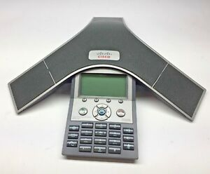 Cp 7937g Cisco 2201 40100 001 Voip Conference Station Business Phone 7937