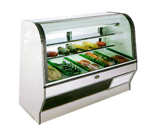 Marc Refrigeration Hs 8 S c Display Case Red Meat Deli