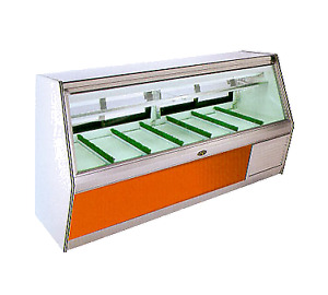 Marc Refrigeration Bdl 12 S c Display Case Red Meat Deli