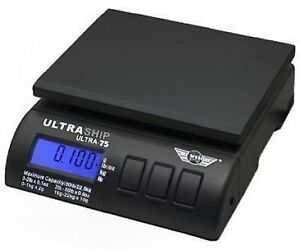 My Weigh Ultraship 75 Lb Electronic Digital Shipping Postal Kitchen Scale Scales