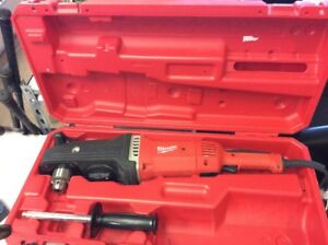 Milwaukee 1680 20 Super Hawg 1 2 Right Angle Drill With Case 46136 3