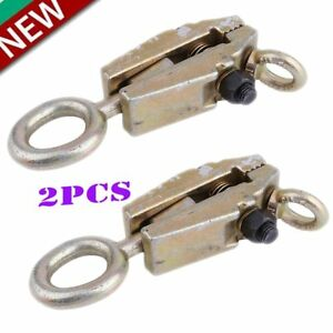 2 X Us 5ton Self Tightening Frame Body Repair Small Mouth Pull Clamp Hand Tool