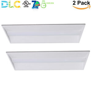 2x4 Dimmable Led Troffer Light 40w Recessed Drop Lay In Ceiling Lighting Fixture