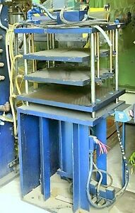 Hydraulic Press Tmp 37 Ton Platen Molding Press