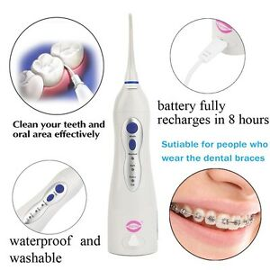 V8 Oral Irrigator Water Toothpick Teeth Whitening Dental Tooth Cleaning Tool Rsm