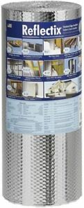 Reflectix 50 sq Ft Reflective Roll Insulation 24 in W X 25 ft L