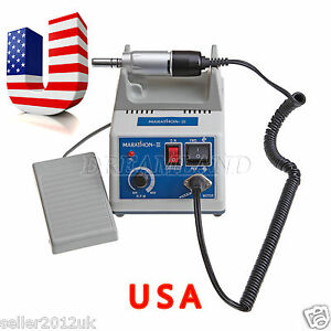 Us 24h Ship Marathon Saeyang N3 Dental Lab Micro Motor 35k Rpm Electric Motor