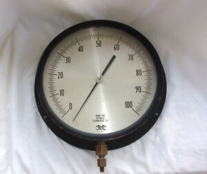 Vintage 14 Hugh Marshalltown Gauge Steam Steampunk Industrial