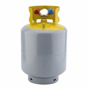 Refrigerant Recovery Reclaim Cylinder Tank 50lb Pound 400 Psi New Qc