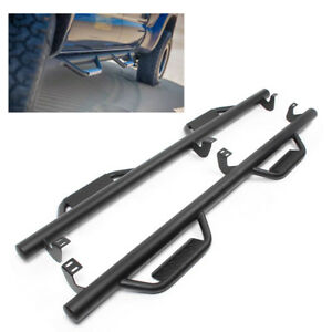 Nerf Bars Running Boards Steps For 2005 2018 Toyota Tacoma Double Cab