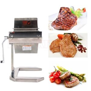 Commercial Stainless Steel 7 Manual Meat Tenderizer Heavy Duty 14 2 Knifes