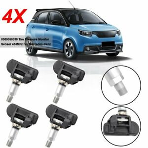4pcs Tpms Tire Pressure Sensor A0009050030 For Mercedes Benz A0009050030 Genuine