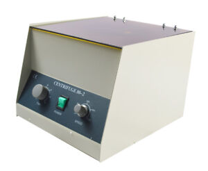 Lower speed 4000rpm Electric Medical Lab Centrifuge Laboratory 12x20ml 110v