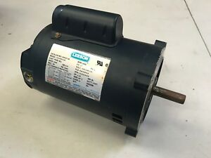 Leeson 3 4hp Electric Motor Rpm 3450 100357 00 230v Single Phase
