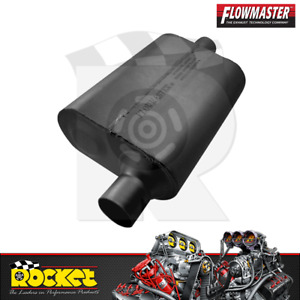 Flowmaster 40 Series Muffler 2 25 Offset Inlet Center Outlet Flo942441