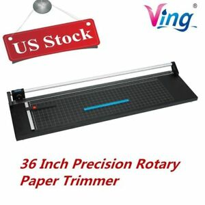 Us Stock 36 Precision Rotary Paper Trimmer Cutter Sharp Photo Paper Cutter