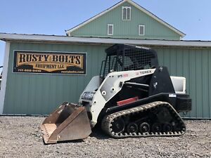2011 Terex Pt50 Compact Track Skid Loader Low Hours Asv Cheap Shipping Rates