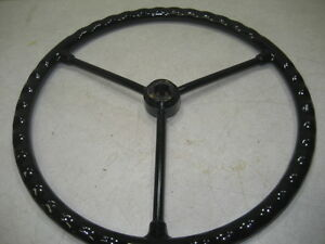 John Deere Tractor Model M mt 40 Steering Wheel