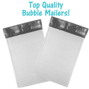 6x10 Poly Bubble Mailers White Wholesale Padded Envelopes 6x9 Shipping Bags