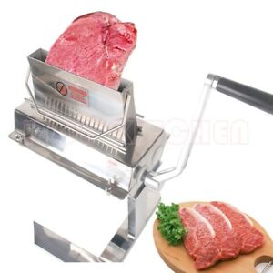7 Handy Meat Tenderizer 37 2 Knifes With Support Frame For Pork Steak Chicken