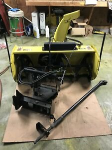 John Deere 47 Two Stage Snow Blower And Quick Hitch