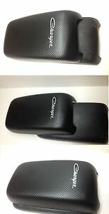 Dodge Charger 2011 2019 Armrest Center Console Cover Black Carbon Fiber