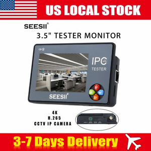 3 5 4k Cctv Ip Camera Tester Monitor Wifi Touch Screen Ptz 480x320 Resolution