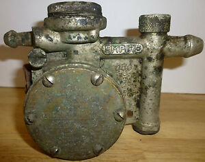 Empire Milking Machine Co Pulsator Vintage Cow Milker Part Patent 1924 E c Oakes