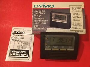 Mint Dymo Electronic Date time Stamper Datemark