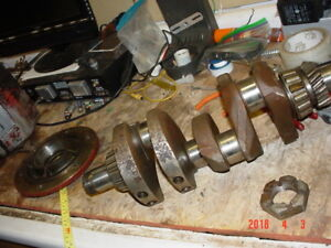 Crankshaft From Wisc Vf4d Ditch Witch 2300 Trencher