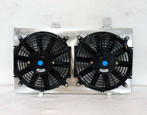 Radiator Fan Shroud Fit For Toyota Corolla Ae86 1984 1987 New 1986 1985 W 2xfans