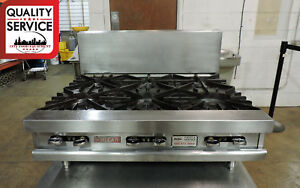 Vulcan Mg36 Commercial Modular Gas 6 Burner Restaurant Range