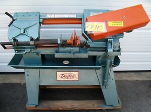 Dayton Horizontal Metal Cutting Band Saw 32518 3 4 X 032 X 101 Free Ship
