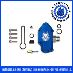Blue Spring Kit Ford 6 0l Sinister Diesel 2003 2007