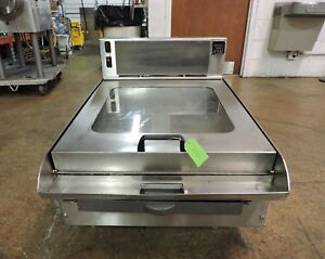American Griddle 2 grd Commercial Electric Steam Shell Griddle