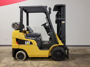 2012 Cat Caterpillar 2c5000 5000lb Cushion Forklift Lpg Lift Truck Hi Lo 83 187