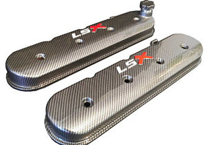 Lsx Valve Covers Carbon Fiber Hydro Dipped Holley 241 405