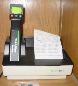 Welch Allyn Microtymp 2 Tympanometer 23640 W Printer 71170 With New Tips