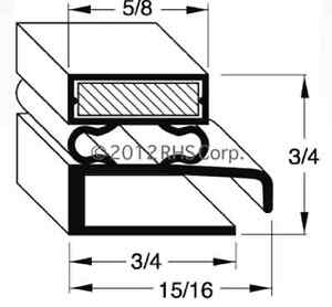 Walk In Cooler Door Magnetic Gasket Seal